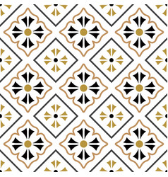 tile pattern seamless design vector image