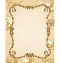 knot frame vector image
