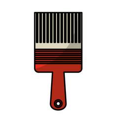 Paint brush tool icon vector
