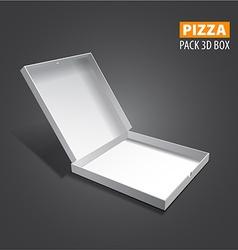 pizzza box vector image vector image