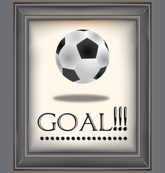 goal vector image