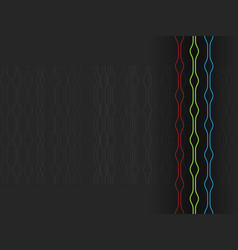 abstract technology line pattern background vector image