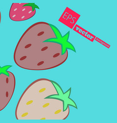 Fruits pattern seamless background vector