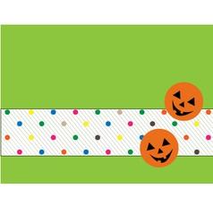happy pumpkin vector image