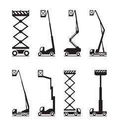 industrial lifting equipment vector image