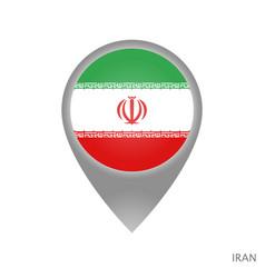 iran point vector image