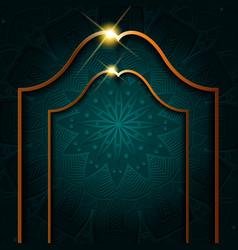 Ornament luxury golden mandala background free vector