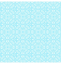 Blue lace pattern vector image