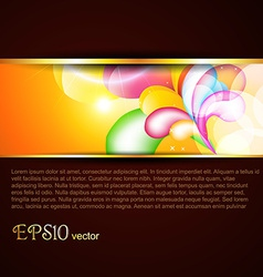 stylish template vector image vector image