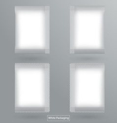 White Packaging vector image