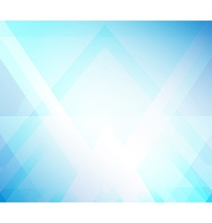 Background blue triangle vector image