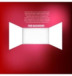 background window Texture design vector image
