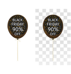 Balloon spangles black friday 90 percent off vector