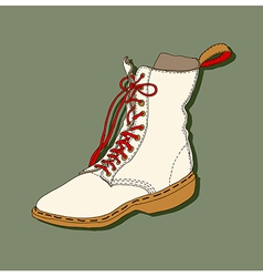 Cartoon shoe vector