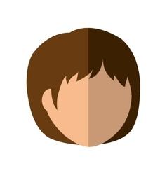 Cartoon woman icon Person design graphic vector
