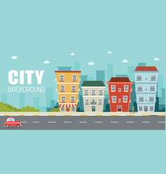 City2 of city view vector