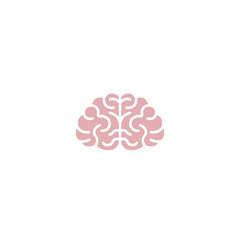 Creative abstract brain logo vector