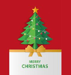 merry christmas and winter season greeting card vector image