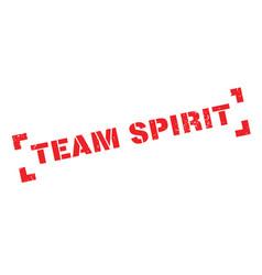 Team spirit rubber stamp vector