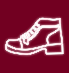 the image of the shoe vector image