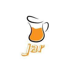 Jar design template vector