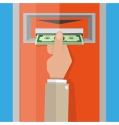 ATM Money withdrawal vector