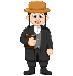 Cartoon religious leader for you design vector