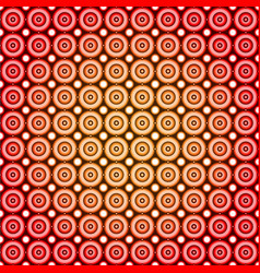 circle industrial seamless pattern design vector image