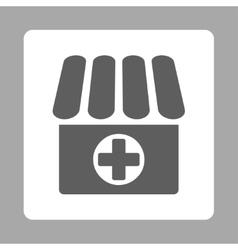 Drugstore icon vector