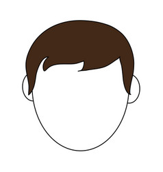man head vector image