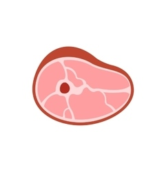 Meat icon on white background vector