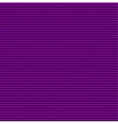 Purple galousie Volume of horizontal lines vector image