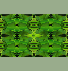 seamless pattern with green crystal texture vector image