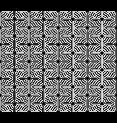 seamless traditional japanese kumiko ornament vector image