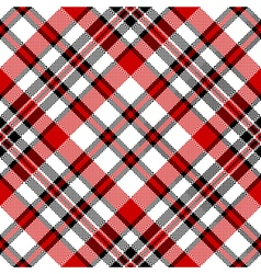 White red diagonal check square pixel seamless vector