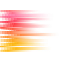 red speed pixel abstract background vector image