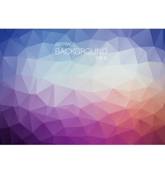 Abstract violet triangle shapes backgound vector