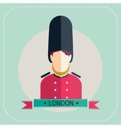 Royal Guard icon vector image
