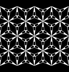 seamless pattern geometric triangular texture vector image