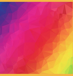 abstract polygonal mosaic background vector image