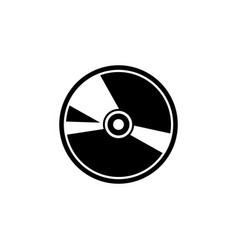 Compact disc icon template isolated vector