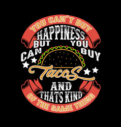Food and drink quote good for print design vector