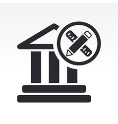 Historical design icon vector