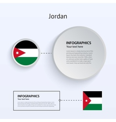 Jordan country set banners vector