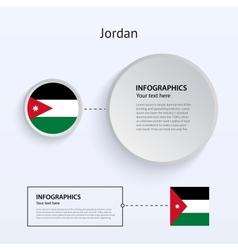 Jordan Country Set of Banners vector