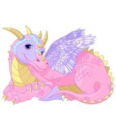 Lady Dragon vector