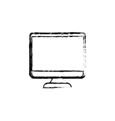 Modern tv media vector image