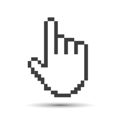 Pointer cursor vector