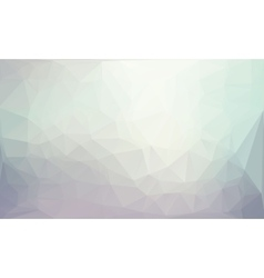 Polygonal gray background vector