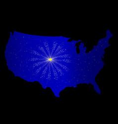 United states celebration vector